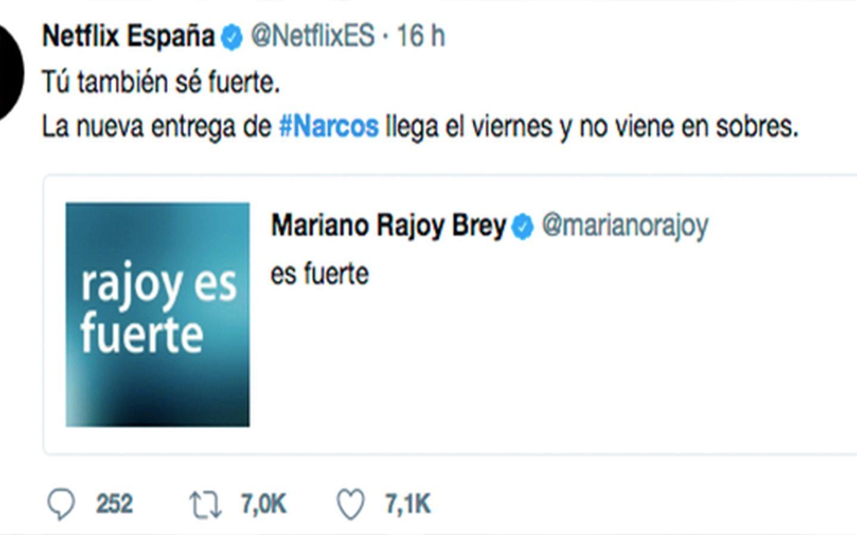 A los sectarios de IU les parten la cara por sumarse a la broma de Netflix a Rajoy