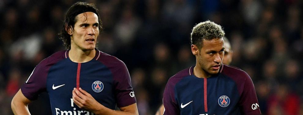 ¿Neymar o Cavani? El PSG decide quién tira los penaltis (y estalla la 'guerra')