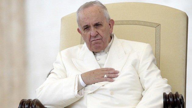 """El Papa tilda las armas nucleares de """"instrumentos de muerte"""""""