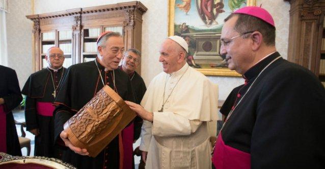 El Papa recibe a los obispos hondureños