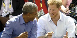 [VÍDEO] Obama sorprende al príncipe Harry con este bailecito