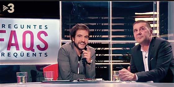 Más bajo que TV3 ya no se puede caer: invitan al batasuno Otegi para que se ría de Albert Rivera
