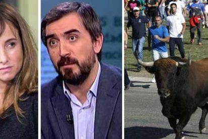 La prensa 'progre' oculta que el verdadero final del nuevo 'Toro de la Vega' fue morir en la oscuridad y soledad de un matadero
