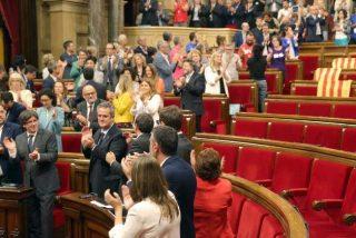 Mazazo del Constitucional contra la ley golpista aprobada por el Parlamento de Cataluña