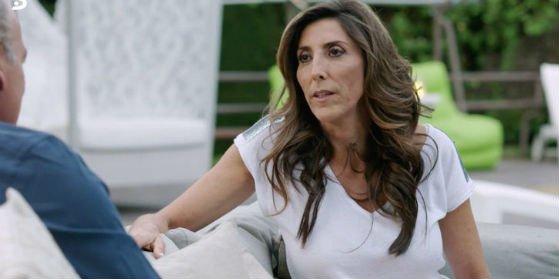 Paz Padilla incomoda a Bertín Osborne pero se niega a hablar de la imputación de su marido 'sociata'