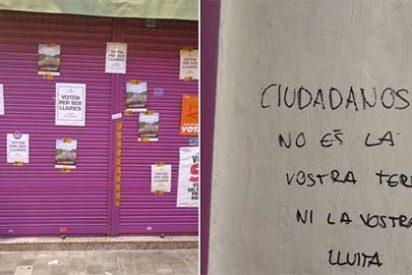 """Los 'catabatasunos' atacan el comercio de los padres de Albert Rivera: """"Esta no es vuestra tierra"""""""