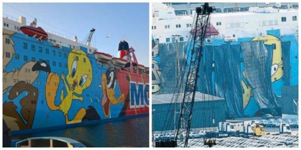 La Vanguardia de Godó hace sangre burlándose del crucero de Piolín en el que se alojan agentes de la Policía