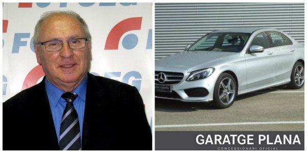 El representante oficial de Mercedes-Benz en Gerona, ferviente defensor del procés