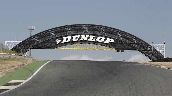 Dunlop luce con orgullo su puente en el Jarama