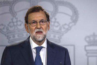 """Rajoy advierte a la Generalitat: """"Están a tiempo de evitar males mayores"""""""