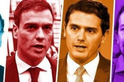 Encuesta electoral: desplome del PP de Rajoy y aude de CS de Rivera