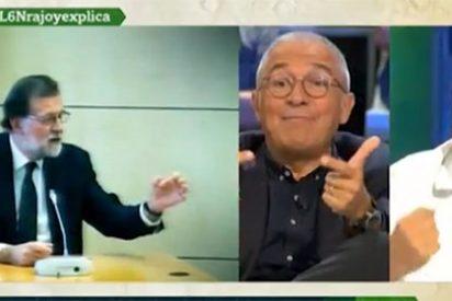 Xavier Sardá coge por la solapa al pro 'Pablenin' Domènech y destroza la estrategia de Podemos contra Rajoy