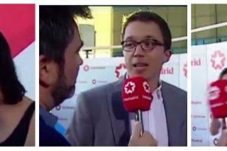 """'Tele Espinar', de risas con Errejón y Rita Maestre: """"Nos gusta mucho más esta Telemadrid que la de antes"""""""