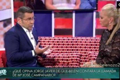 """Cabreo sin precedentes de Jorge Javier Vázquez con Belén Esteban: """"¡Tu entrevista fue un espanto!"""""""
