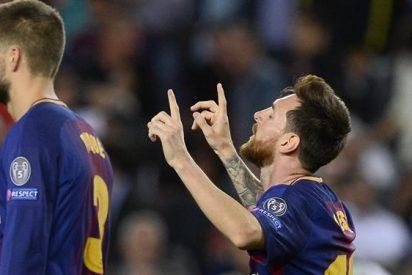Siempre Messi, Barca 3-0 Juve
