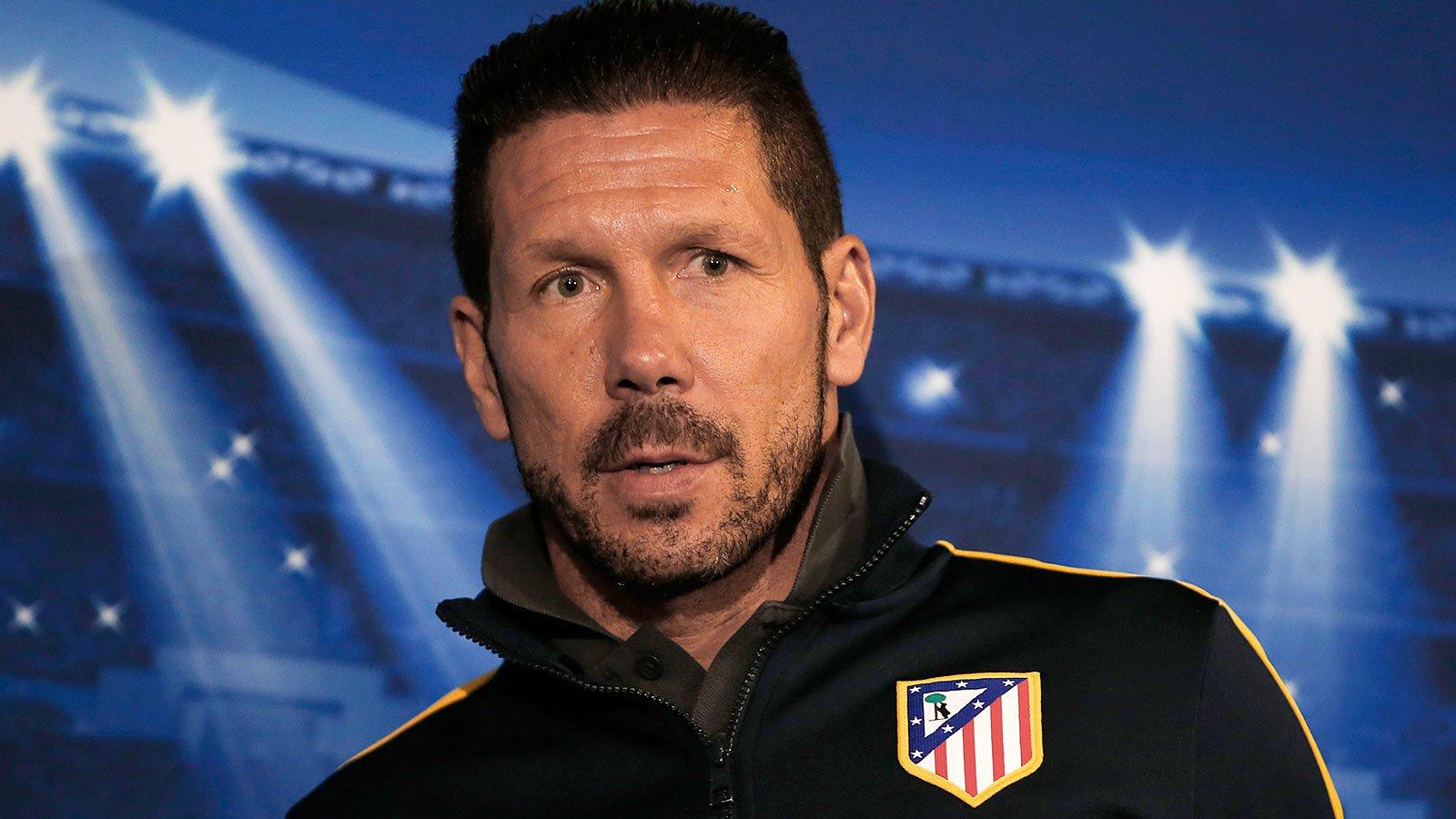El Cholo Simeone renovó en Atlético de Madrid y va por un récord