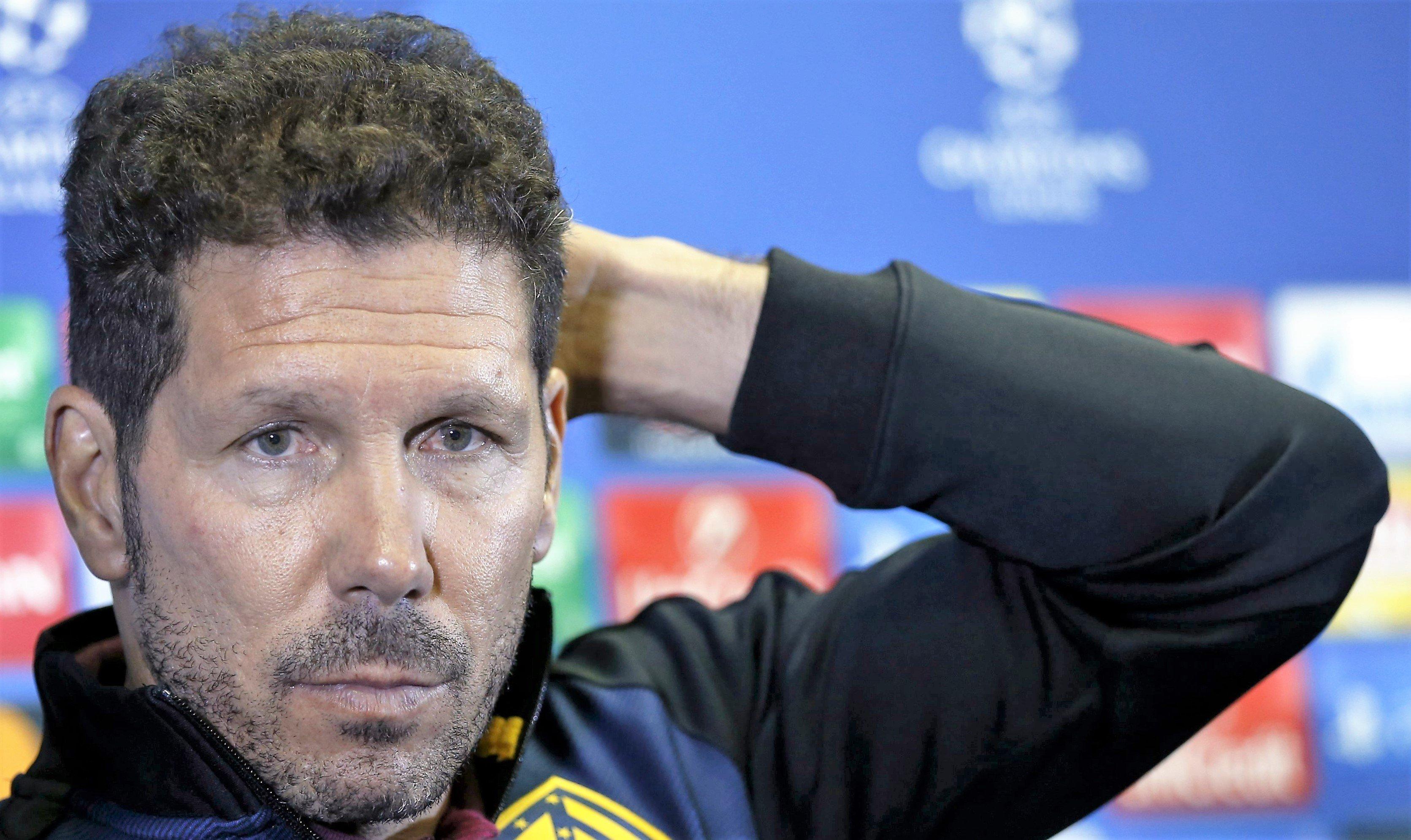 El Cholo Simeone dispara las alarmas en el Atlético: los 'tocados' en la lista del argentino
