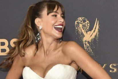 Sofía Vergara radiante, sexy y divertida en los Emmy