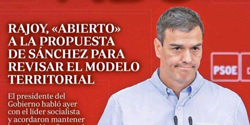 Socialismo, independentismo y el claudicante Pedro Sánchez