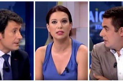Pérez y Naranjo se comen con patatas a Talegón por la desfachatez de decir que el golpe en el Parlamento catalán fue democrático