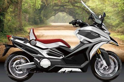 Kymco avanza el diseño de su nuevo megascooter 'Adventure Tourer'
