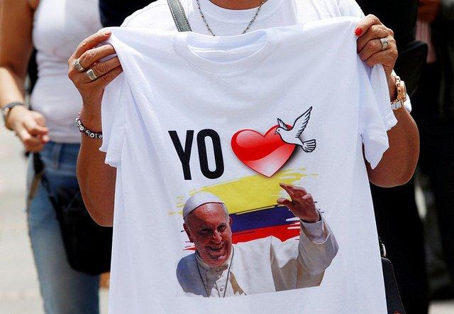 El Papa en Colombia: claro que la pastoral es política