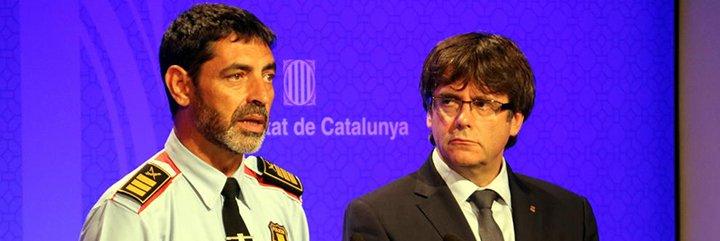 El informe de los Mossos sobre los atentados que deja a Puigdemont con el culo al aire