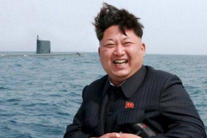 El gordito Kim Jong Un hace que le monten un vídeo donde los norcoreanos destruyen al ejército de EEUU