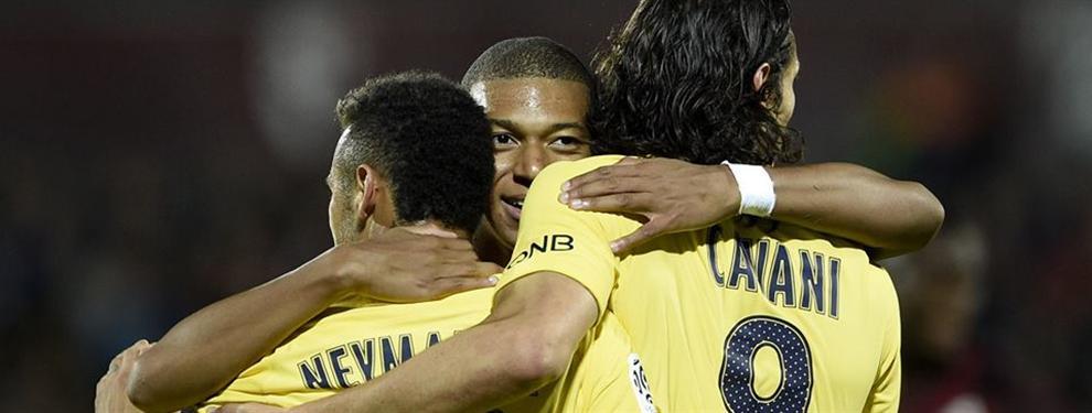 Único puntero: PSG goleó a Metz