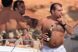 Joan Laporta y sus vacaciones: Puro, champán, yate, y una rubia bailando en topless