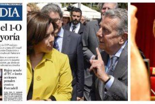 La Vanguardia se niega a condenar el golpe de Estado pero critica la imagen que ha dado Forcadell