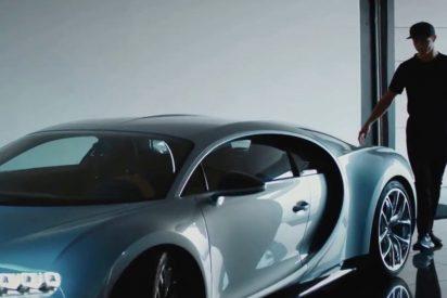 Así es el nuevo Bugatti Chiron de Cristiano Ronaldo valorado en casi 2,5 millones de euros