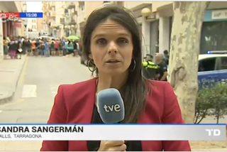 [VÍDEO] Reportera de TVE agredida por fanáticos independentistas