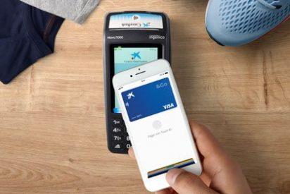 Los clientes de CaixaBank e imaginBank ya pueden pagar con Apple Pay
