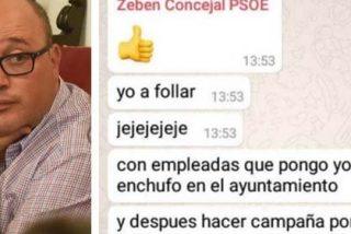 """Un concejal del PSOE en Canarias tiene claras sus prioridades como edil: """"Yo a follar con las empleadas que enchufo en el ayuntamiento"""""""