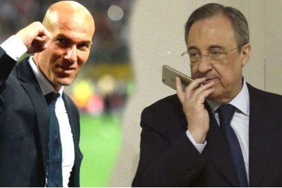Florentino Pérez guarda un regalo bajo el brazo para Zidane que revolucionará al Real Madrid