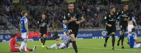 Zidane se lleva el triunfo de Anoeta y un primer 'marrón' en la mochila del Real Madrid