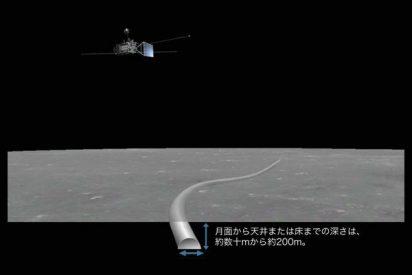 Hallaron una cueva gigante en la Luna, en la que podría construirse una base capaz de sostener vida