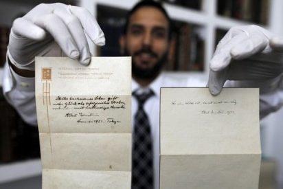 La desconocida teoría de la felicidad que Albert Einstein escribió con su puño y regaló