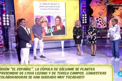Despidos, broca y purgas en 'Sálvame': Lydia, Terelu, Rafa Mora y Jesús Manuel