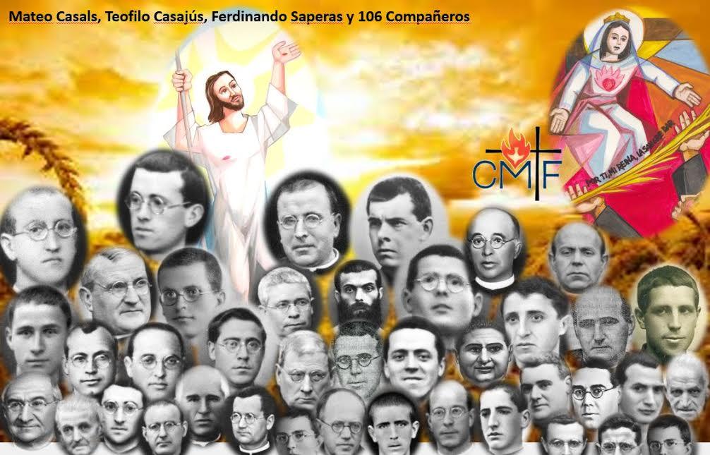"""Mártires claretianos, """"misioneros hasta el fin"""""""