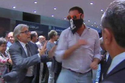 Por empujar a un diputado catalán, 4 años de cárcel, por agredir a la Policía Nacional, 4 meses