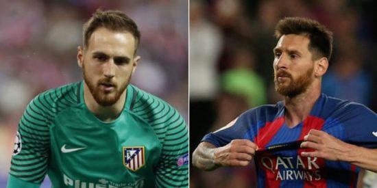 El mejor Oblak recibe a un Leo Messi 'hinchado'