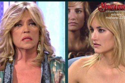 """Lydia Lozano y los de 'Sálvame' se tiran al cuello de Alba Carrillo: """"Tienes mala baba"""""""