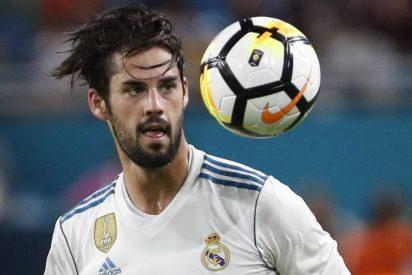 Sólo se salva Isco en este Real Madrid de vagos y maleantes