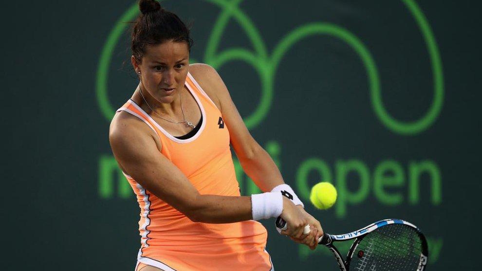 Lara Arruabarrena cae en los octavos de final del torneo de Linz
