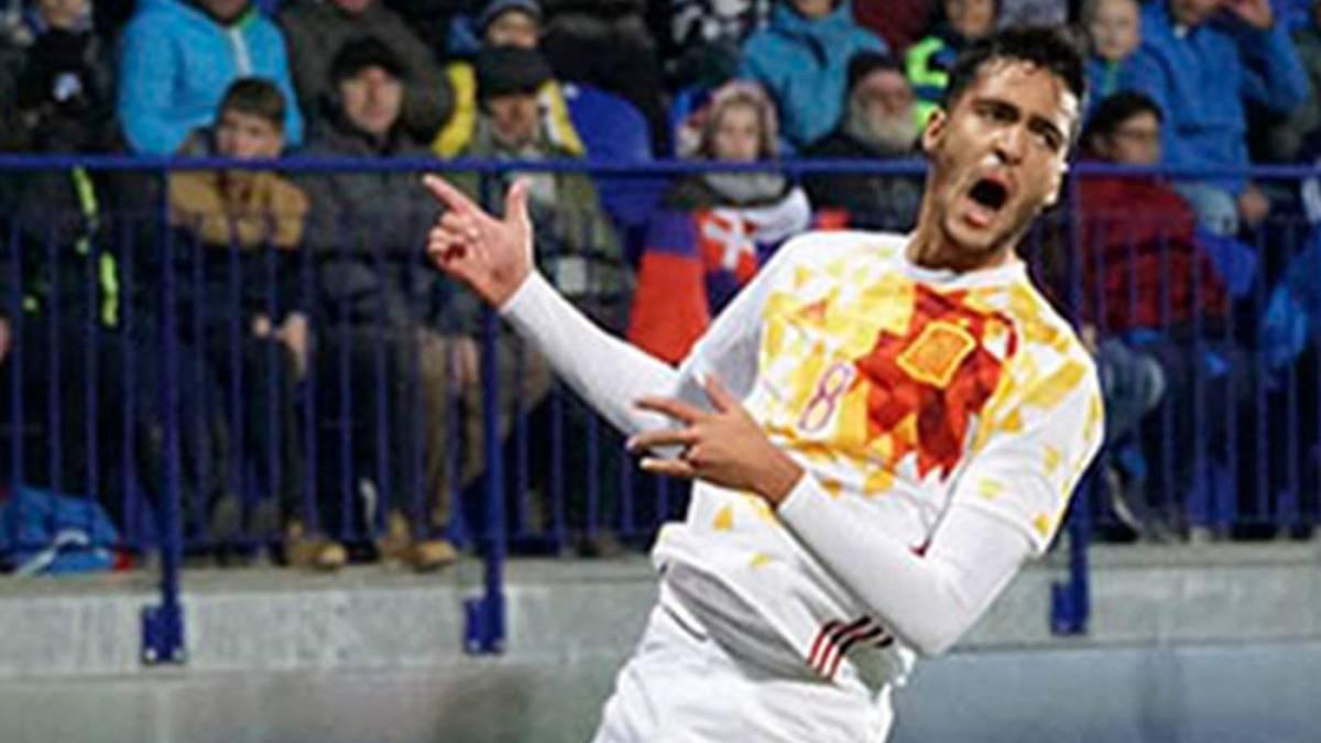 La selección española Sub-21 arrolla a Eslovaquia (1-4)