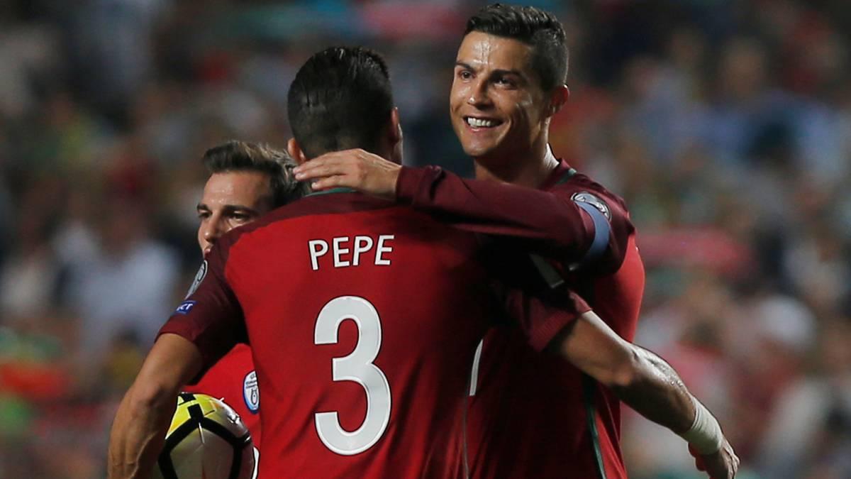 El Portugal de Cristiano Ronaldo, campeón de Europa, estará en el Mundial de Rusia