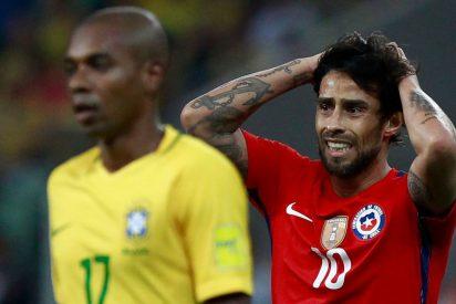 [VIDEO] Esto hizo un aficionado cuando Chile le dijo adiós al Mundial Rusia 2018