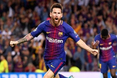Leo Messi llega el sábado al Wanda del Atlético de Madrid a gol por partido en 2017